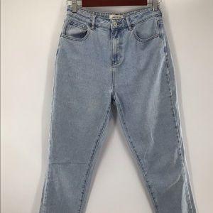 PACSUN Mom Stonewashed Jean Size 26x26 GUC